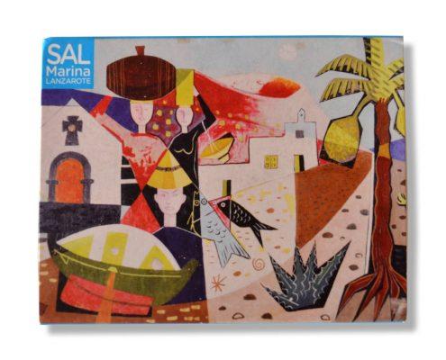 Sal Marina 100g - Salinas de Janubio